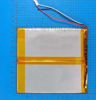 Аккумулятор 30130135 3.7V 7800mAh 3 провода