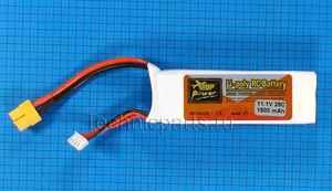 Аккумулятор ZOP Power 3S 11.1V 1500MAH 25C разъем XT60