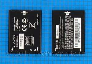 Аккумулятор для телефона Alcatel i808