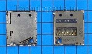 Разъем flash карты для Sony Xperia Z L36H LT36i LT36h LT36 C6602