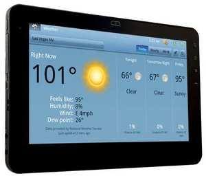 Тачскрин для планшета Viewsonic G-Tablet