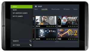 Тачскрин NVIDIA SHIELD Tablet