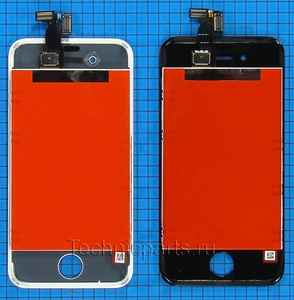 Дисплй для iPhone 4S, экран с тачскрином