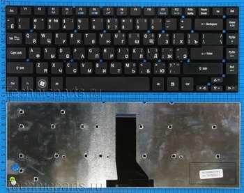 Клавиатура для ноутбука Acer Aspire 3830T