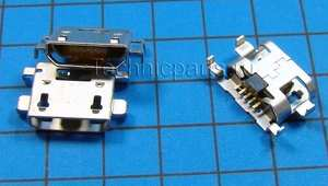 Разъем micro usb для телефона Sony Xperia J ST26 ST26i