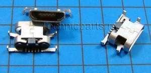 Разъем micro usb Sony Xperia E C1505 E Dual C1604 C1605