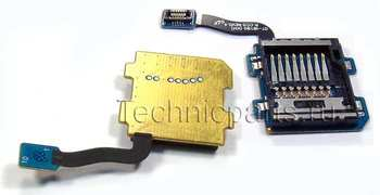 Разъем карты памяти (MMC) со шлейфом Samsung Galaxy S III mini GT-I8190