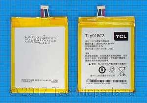 Аккумулятор Alcatel TLp018C2