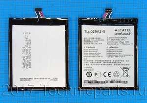 Аккумулятор Alcatel TLp029A2-S