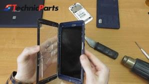 Как снять тачскрин с планшета или телефона?