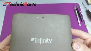 Как разобрать планшет Qumo Infinity